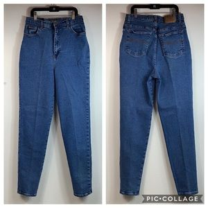 Vintage very high waist wedgie mom stretch jeans